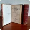 Histoire de France     par V. Duruy     Nouvelle Édition  illustrée d'un grand nombre de gravures  et de cartes géographiques   ...