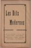 Les Dits Modernes. Première année. N° 1. Août 1919.. ( Revue Les Dits Modernes  ) - Guillaume Apollinaire - Pierre Reverdy - Germonde - Jules ...