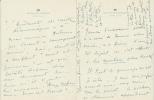 Au Bal avec Marcel Proust. ( Avec dédicace pleine page + lettre manuscrite de 4 pages à Henri Massis ).. Marcel Proust - Princesse Bibesco.