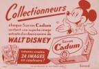 Buvard Mickey ( Walt Disney ).. ( Bandes Dessinées Objets Para-BD ) - Walt Disney - Mickey.