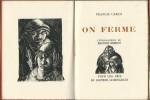 On Ferme. ( Tirage numéroté ). Francis Carco - Maurice Berdon.