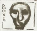 Boxe. ( Tirage unique à 20 exemplaires sur papier de rives, numérotés et signés par l'artiste ).. ( Boxe - Beaux-Arts ) - Charlotte Sjöstrand.