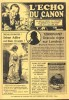 L'Echo du Canon n° 1: Revue en micro-tirage, dédiée à l'univers de Sherlock Holmes.. ( Sherlock Holmes- Pastiches ) - Marc Madouraud - Philippe ...