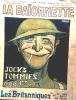 "Revue La Baïonnette n° 123 : Les "" Britanniques "", Jocks, Tommies, and Cy. Gus Bofa - Pierre Mac Orlan - Charles Genty."