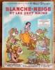 """Superbe lot : Blanche-Neige et les Sept Nains, un nouveau grand film de Walt Disney + Pochette avec les 2 disques """" Blanche-Neige et les Sept nains """", ..."""