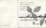 Célébration de la Rose + 45 tours avec titres chantés par Nana Mouskouri, Yves Montand, Juliette Gréco et Francis Lemarque.. ( Disques - Robert Morel ...