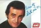 Carte postale dédicacée par Dick Rivers.. ( Chanson Française - Rock ) - Dick Rivers