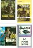 Bob Morane : Série complète des 9 cartes postales reprenant différentes couvertures d'éditions originales d'Henri Vernes illustrées par William Vance, ...