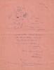 """Amar, Roi du Cirque. ( Exemplaire avec superbe lettre autographe, signée, avec petit dessin original de Maurice Féaudierre dit """" Serge """" ).. ( Cirque ..."""