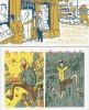 Carte de voeux 1991 + Ex-Libris - Carton d'invitation d'exposition ( Dédicacé ). ( Bande dessinée ) - Philippe Dupuy - Charles Berberian.