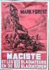 """Rare affiche publicitaire intitulée """" 7 Jours à Tuer """", éditée, pour la semaine de la littérature et du film policier qui eut lieu à Clermont-Ferrand ..."""