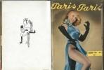 Reliure éditeur S.E.C.TI 1951-1952 avec Revues Paris-Paris n° 2, 3,4,5 - Revue Don Juan n° 2 - Revue Paris-Sourire n° 1.. ( Erotisme - Revues ) - ...