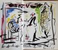 Rendez-vous à Paris. ( Avec superbe aquarelle originale couleurs, double page, signée, par Hippolyte Romain ).. Hippolyte Romain - Régine Deforges.