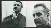 Célébration du visage de Georges Brassens.. ( Robert Morel ) - Georges Brassens ) - Pierre Joly - Véra Cardot.