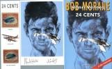 24 Cents : ( Dédicacé ).. ( Bob Morane ) - Jean-Pierre Castaldi - Henri Vernes - David Willig.