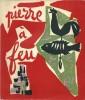 Pierre à Feu, Provence noire. ( Tirage de tête, numéroté et signé, avec dessin original signé, pleine page, de André Marchand ).. André Marchand - ...