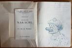 Armand Nakache, Peintre et Graveur. ( Dédicacé + Dessin original pleine page par Armand Nakache ).. ( Beaux-Arts ) - Armand Nakache - Pierre Mac Orlan ...