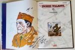 Les Tigres Volants, tome 4 : Etoile rouge. ( Avec superbe dessin original, dédicacé de Félix Molinari ). ( Bande dessinée ) - Félix Molinari - Richard ...