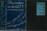 Thunder on the Left. ( Avec belle dédicace autographe signée et datée de  Christopher Morley ).. ( Roman Fantastique ) - Christopher Morley.