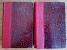 Chansons-sans-gêne - Chansons à rire. ( Deux volumes reliés ).. Léon Xanrof - Georges Cain - Grün - Bombled - M.Capy - J.Grün - Sonnier - M.de Thoren ...