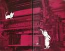 Siné pour Sim. ( Plaquette de voeux pour l'année 1962, en tirage unique à 3000 exemplaires numérotés ). ( Tirage Publicitaire - Georges Simenon ) - ...