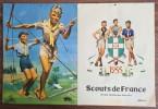 Calendrier Scout de France 1955.. ( Scoutisme ) - Pierre Joubert - R.Manson - Jos le Doaré - Jean Roubier - Roger Viollet.