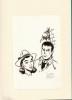 Bob Morane, Objectif Equus. ( Tirage spécial de luxe à 200 exemplaires, numérotés et signés + dessin original signé + ex-libris numéroté et signé par ...