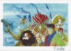 Les Murailles d'Ananké. ( Dédicacé + jaquette inédite + ex-libris signé ).. ( Bob Morane - Bande dessinée ) - Henri Vernes - Frank Leclecq.