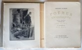 Poèmes Excentriques. ( Tirage limité à 438 exemplaires numérotés sur arches, signés par l'auteur et belle dédicace de l'éditeur ).. Georges Guierre - ...
