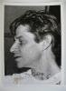 """Très beau portrait de l'artiste, signé et daté 66. Photographie originale (18 x 13 cm), prise par """"Le Provençal"""" Service photographique, 75, rue ..."""