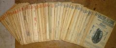 """"""" LA GRANDE GUERRE PAR LES GRANDS ÉCRIVAINS """" - 40 n° du n° 3 du 15 JANVIER 1915 au n° 49 du 20 JANVIER 1917        ---. CLEMENCEAU - FRANCE - LLOYD ..."""