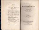 MEMOIRES, publiées par son petit-fils Paul de Rémusat. . REMUSAT MADAME DE