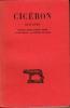 DISCOURS Tome III. Seconde action contre Verres. Livre second : la préture de Sicile.  Texte établi et traduit par H. de La Ville de Mirmont . CICERON