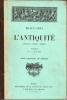 BEAUX-ARTS. L'ANTIQUITE (Architecture - Peinture - Sulpture). Album comprenant 185 gravures. ROGER-MILES M. L.