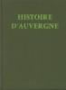 Histoire d'Auvergne.. MANRY André-Georges