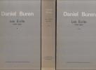 Les Ecrits (1965-1990). [3 volumes]. BUREN (Daniel)