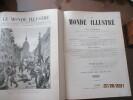 Le Monde illustré  - 39 è Année -  T. LXXVI  & LXXVII - Année  1895 complète. Collectif - Entres autres : P. VEROU - P. HERVIEU - A. DELORME - P. LOTI ...