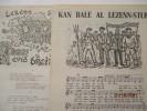 Kan Bale al Lezenn-stur  - Lezenn Stur evid Breiz (chant de marche, Loi programme pour la Bretagne).  Loeiz Ropars