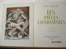Les Pièces condamnées. BAUDELAIRE, charles - Illustrations de Pierre-Adrien EKMAN