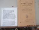 Revue nobiliaire historique et biographique -  1865 - Nouvelle Série - T. I - Fondée par M. Bonneserre de Saint-Denis - Publiée par L. Sandret. Table ...