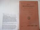 Revue nobiliaire historique et biographique -  Fondée par M. Bonneserre de Saint-Denis - Publiée par L. Sandret. Table sommaire : Les manuscrits ...