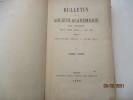 Bulletin de la Société Académique de Brest -  1888/1889 - BretagneEntre autres articles : Le far-West - souvenirs d'un officier de la Corvette ...