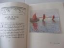 La Bretagne - Trente planches en couleurs d'après les tableaux du peintre - Ornementations de David Burnand.(Saint-Thegonnec, lîle aux Moines, ...