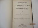 Des Institutions en vue de la transformation ou de l'abolition du salariat ((12 Leçons faites en mai-juni 1919 aux Étudiants américains) de Charles ...