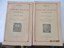 Manuel de Folklore Français contemporain, de Van Gennep T. I-I) Introduction générale et Première Partie : du Berceau à la Tombe (Naissance, Baptème, ...