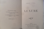 Luxure de André GYBAL. André Gybal (1885-1960)