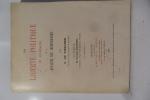 La liberté politique en Allemagne et la dynastie des Hohenzollern de de Visscher.  F. de Visscher - Préface de M. Georges Blondel