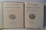 Marine - Etat des Pensions du Département de la Marine accordées depuis le Ier janvier 1829 , jusquau 31 décembre de la même année.