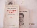 Algérie - L'Affaire Audin de Pierre Vidal-Naquet - Un homme a disparu: Maurice Audin, par comité Maurice Audin . Pierre Vidal-Naquet - Préface de ...