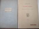 Cartulaire de Landevennec - Planches par société Archéologique du Finistère RENNES, Typographie A. Le Roy fils - 1886 - In-4 dans cartonnage -7 ...
